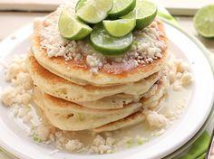 Key Lime Pancakes.