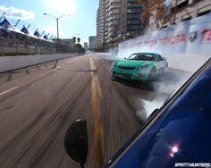 Drift chase wallpaper