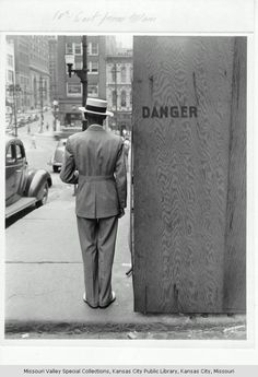 Dapper and dangerous: Kansas City, 1941 (photo from special collections)