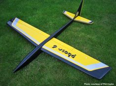 Buy exclusive Chris Foss Designs (Phase 6 RC Glider) from experts in gliders, quadcopters, RC gear and repairs. Rc Model Aircraft, Rc Plane Plans, Rc Glider, Flying Wing, Aircraft Design, Model Airplanes, Radio Control, Gliders, Hobbies