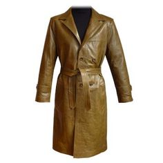 The Kénitra... Cool stylish lamb skin trench ... In a multitude of colors!