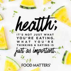Don't forget about what you're putting into your mind is just as important as what you are putting into your body ;) www.foodmatters.com #foodmatters #FMquotes #foodforthought Healthy Food Quotes, Nutrition Quotes, Health And Wellness Quotes, Health And Fitness Tips, Health And Nutrition, Cheese Nutrition, Nutrition Program, Wellness Fitness, Women's Health