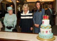 Elizabeth, Camilla & Kate