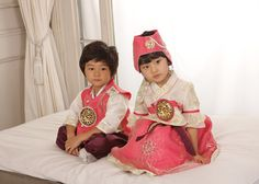 #Hanbok Korea This is too cute!