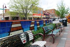 Ames has been named a quarterfinalist in the America's Main Streets contest and voting is now open through May 29. Photo by Sarina Rhinehart/Ames Tribune  http://amestrib.com/news/ames-makes-top-25-national-main-street-contest
