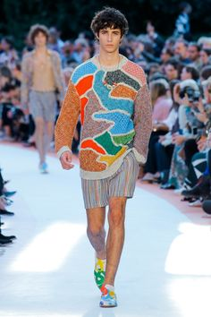 Missoni Spring 2018 Ready-to-Wear  Fashion Show - Oscar Kindelan
