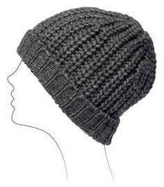 Oui, home made, comme d'habitude – Knit Spirit Wooly Hats, Knitted Hats, Crochet Hats, Bonnet Crochet, Diy Crochet, Newborn Knit Hat, Knitting Patterns, Crochet Patterns, Knitting Accessories