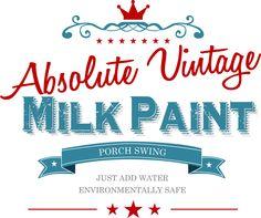 """Absolute Vintage Milk Paint:  Color  """"Porch Swing"""""""