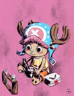 Tony Tony Chopper One Piece Tony Chopper, Fanart, 0ne Piece, Awesome Anime, Anime Manga, Reindeer, First Love, Nerd, Kawaii