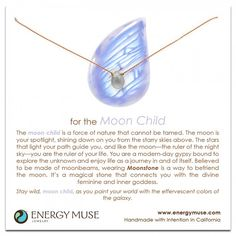 For the Moon Child - The Metaphysical Girl