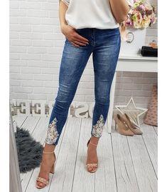 a6e0eba12a8f Pánske nohavice - Kokain. Skinny Jeans. Modré dámske džínsové nohavice