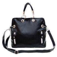 100% High Quality Women's PU Leather Purse Handbag Messenger Satchel Shoulder Bag Cross Body Briefcase Handbag bolsa feminina #Affiliate
