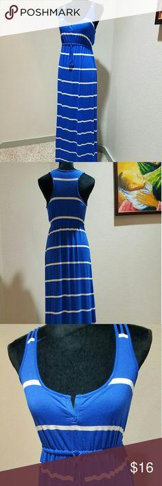 Old navy drawstring maxi dress