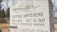 Local man Gustav Whitehead credited as first to fly