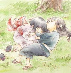 Hinata & Neji (pure adorableness!!! X3)