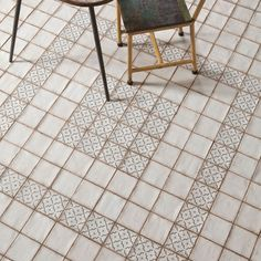 Shop for SomerTile 4.875x4.875-inch Chronicle Lattice Ceramic Floor and Wall…