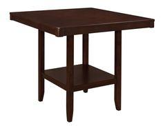 Coaster Fattori Counter Height Table - Espresso
