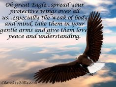 Prayer To The Great Eagle