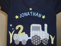 T-Shirts - GEBURTSTAG'S T-Shirt °JONA° 2,3,4,5 Jahre TRECKER - ein Designerstück von LilleKex bei DaWanda