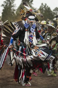 Apache northern traditional dancer, Harley Upton Jr. (Diego James Robles)