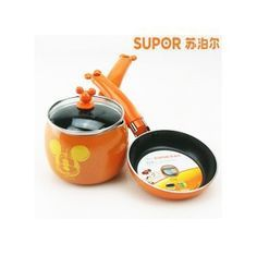 Super Mickey mouse series cookware set,frying pan ,mick pot-in Pans from Home & Garden on Aliexpress.com | Alibaba Group