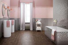 atlas concorde bathroom tiles feminine italian bathroom interior design pink gray