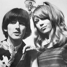 ♡♥George Harrison with wife Pattie Boyd - click on pic to see a larger pic♥♡