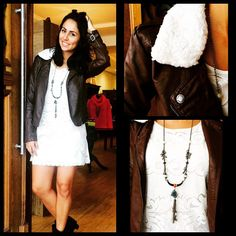 Look com vestido OH, boy! #look #winter #lojavoila