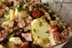 salade pomme de terre saucisse de Morteau