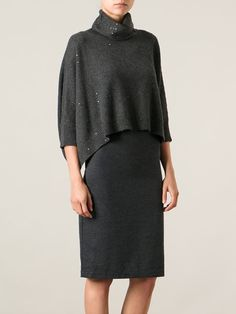 You'll find a great selection of designer knitted dresses at Farfetch. Knitwear Fashion, Knit Fashion, Work Fashion, Womens Fashion, New Outfits, Stylish Outfits, Fall Outfits, Comfortable Fashion, Comfortable Outfits