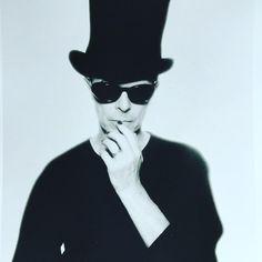 David Bowie, 1995. Photo by © Enrique Badulescu.