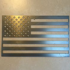United States Flag / 2 Foot – Metal Art of Wisconsin