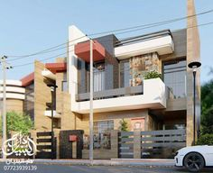 Le Riad, Duplex House Plans, Multi Story Building, Houses, Exterior, House Design, Goals, House Styles, Ideas