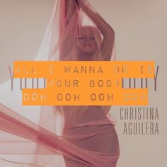 """-- #LyricArt for """"Your Body"""" by Christina Aguilera"""