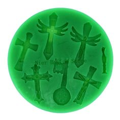 3D silicone molds cross fondant chocolate Fimo clay mold DIY cake candy decoration mold fondant mold free shipping-in Cake Molds from Home  Garden on Aliexpress.com $13.00