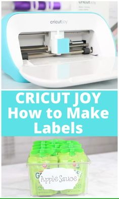 Learn Everything You Need to Know About the Brand New Cricut Joy – The World's Smallest Smart Writing and Cutting Machine. Learn how to use smart label. Everything You Need to Know About the Brand New Cricut Joy Smart Cutting and Writing Machine Cricut Ideas, Cricut Tutorials, Ideas For Cricut Projects, Easy Diy Crafts, Diy Crafts To Sell, Best Cricut Machine, Cricut Heat Transfer Vinyl, Writing Machine, Cricut Help