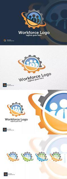 Workforce - Logo Template AI, EPS