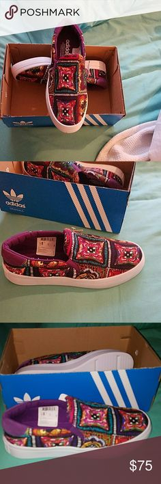 Adidas Courtvantage Slip On price firm New in Box Adidas Shoes Athletic Shoes