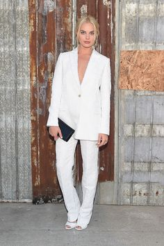 Margot Robbie à la Fashion Week de New York