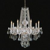 Found it at Wayfair - Crystorama Bohemian 8 Light Chandelier