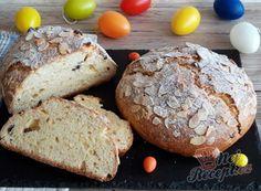 Tvarohová vánočka - krok za krokem   NejRecept.cz Bread, Food, Brot, Essen, Baking, Meals, Breads, Buns, Yemek