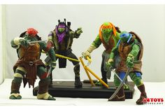 These giant turtles have span over a decade with so many iterations it hurts but the newest TMNT Playmates Movie Action Figures have debuted but haven't gone on sale just yet. Whether you love the classic turtles or the new these fighting four will always have a special place in all our hearts.
