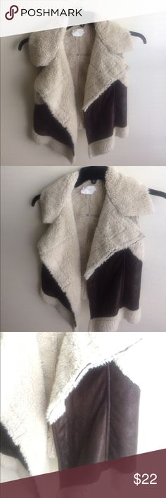 Lush vest Size small, great condition other than small unnoticeable stain on inside as pictured Lush Jackets & Coats Vests