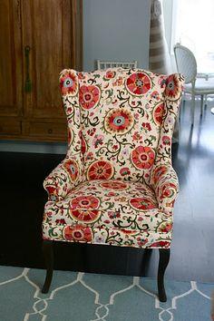 love this suzani fabric