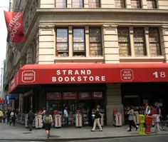 Strand Bookstore - one of my favorite places on earth.