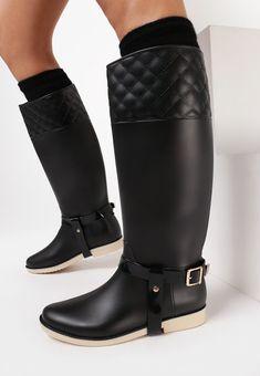 HUNT4SHOP: Cizme de cauciuc - 75 ron Ron, Second Hand, Biker, Boots, Shopping, Fashion, Crotch Boots, Moda, Fashion Styles
