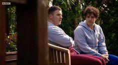 #HolbyCity (19/35) Dominic (David Ames) and Lofty (Lee Mead)