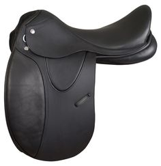 The handcrafted Diana Pro saddle from M. Toulouse features an adjustable tree to ensure a proper fit as well as gel inserts positioned under the thighs for comfort and closer contact with the horse. The saddle also has wool-flocked panels and gripping leather for a more secure seat.