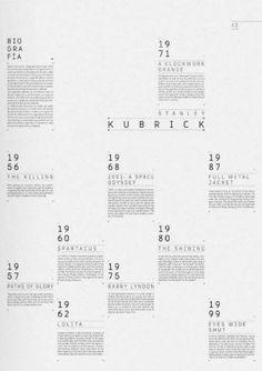 Simple design layout #minimal #timeline #history
