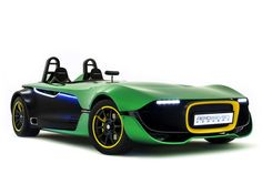Caterham AeroSeven Concept - this color green really isnt my taste, but this car is pretty awesome